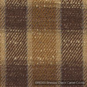 Bre003 bressay check camel cocoa product detail