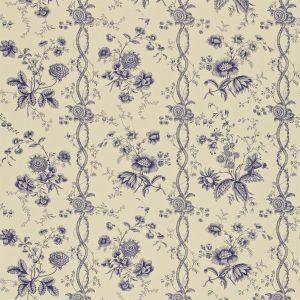 Sanderson Floral Stripe Wallpaper Degtfs103 Top Designer