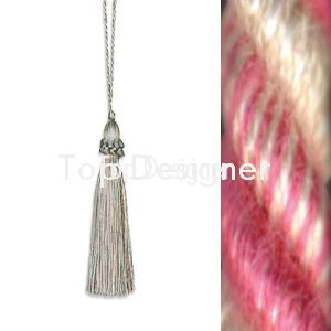 April key tassel silhouette product listing