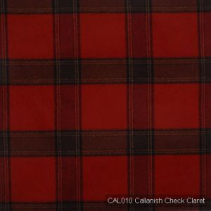 Cal010 callanish check claret product listing