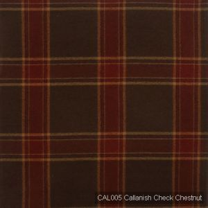 Cal005 callanish check chestnut product detail