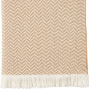 Wd000010 ru5044 camel and white herringbone throw 4y7z8902x 2 product listing