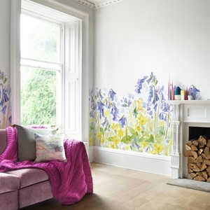 Bluebellgray bluebell woods mural 1 product listing
