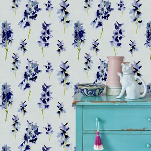 Bluebellgray delphinium wallpaper 1 product listing