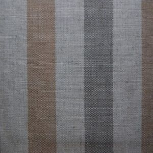 Art of the loom fabric toffee stripe product detail