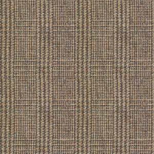 Art of the loom fabric demdike check russet brown product detail