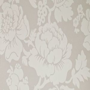 Ian mankin wallpaper wallcovering wildflower grey product detail