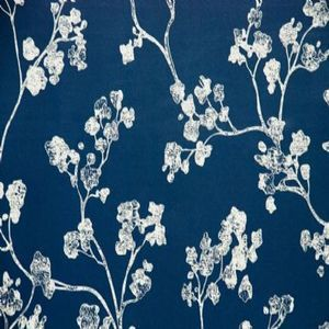 Ian mankin wallpaper wallcovering kew navy product detail