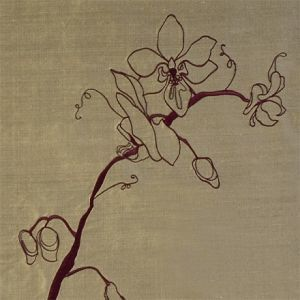 Design forum fabric orchid gold aubergine 440x440 product detail