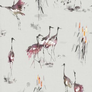 Voyage wallpaper cranes tourmaline product listing