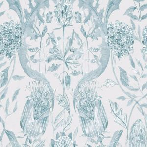Voyage wallpaper colscott teal product detail