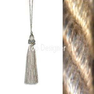 April key tassel pewter product listing