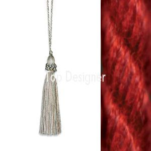 April key tassel claret product listing