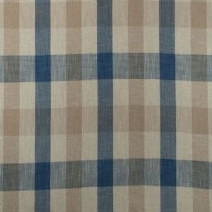 Ian mankin fabric oban check blue product detail