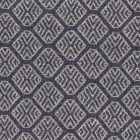 Ian mankin fabric gisburn dark navy product detail