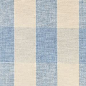 Ian mankin fabric avon check bluebell product listing