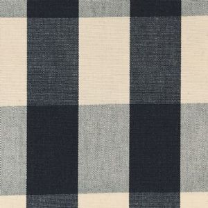 Ian mankin fabric avon check black product listing