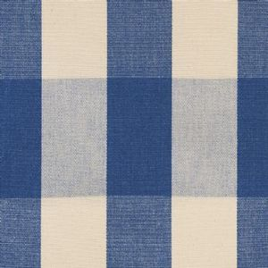 Ian mankin fabric avon check indigo product listing