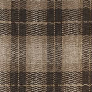 Ian mankin fabric kintyre check brown product listing
