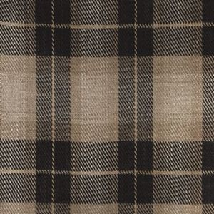 Ian mankin fabric kintyre check charcoal product listing