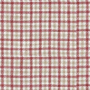 Ian mankin fabric nairn check peony product listing