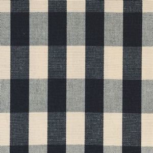 Ian mankin fabric suffolk check l black product listing