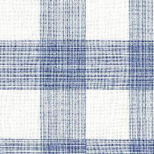 Ian mankin fabric hemsby check cobalt product listing