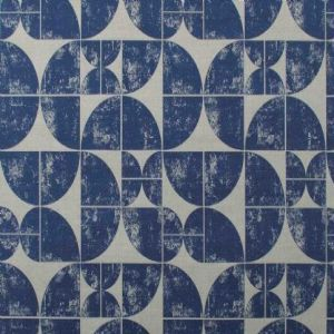 Ian mankin fabric acton navy product listing