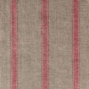 Ian mankin fabric angus stripe nordic red product listing