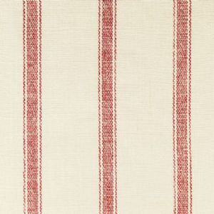 Ian mankin fabric angus stripe red product listing