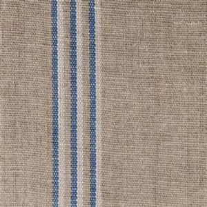 Ian mankin fabric grain stripe nordic indigo product detail