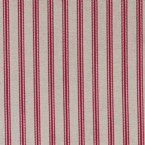 Ian mankin fabric organic ticking cranberry product detail