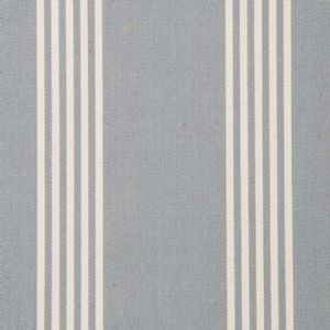Ian mankin fabric oxford stripe silver product detail