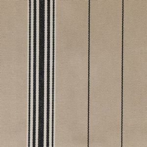 Ian mankin fabric regatta stripe 2 black product detail