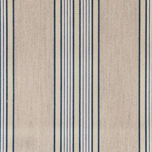 Ian mankin fabric vintage stripe 1 navy product detail