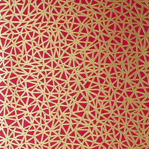 Thibaut wallpaper t10407 raspberry product listing